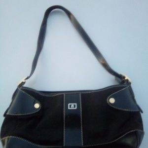 Etienne Aigner black handbag